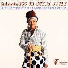 Happiness In Every Style - Nicole / Soul Investigators Willis (2015, CD NEU)