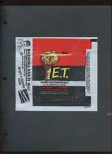 ET #1-87 & STICKERS 1-12 & 1 WRAPPER CARDS ALL NEAR MINT #ns16-57