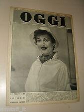 OGGI=1953/27=HEDY LAMARR=GIACOMO RONDINELLA=MODA A VENEZIA=MARIO MICHELUCCI=