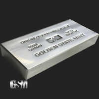 1 Kilo (32.15 oz.) .999 Fine Silver Bar (extruded) - Golden State Mint - New