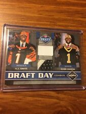 NEW ORLEANS SAINTS AUTO JERSEY PRIME PATCH LOT ALL ARE SERIAL #1 CHRISTMAS GIFT!