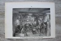 Blatt 1914-25 Quartier Pioniere Baracke Soldatenleben Unterstand Soldaten 1.WK
