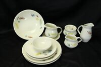 Franciscan Autumn Lot of 10 Bowl Plate Creamer Sugar Gravy Boat
