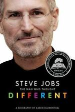 Steve JobsThe Man Who Thought Different by Karen Blumenthal, NEW,  FREE SHIP