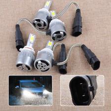 4x 9005 9006 LED 36W 3800LM 6000K Combo Headlight Lamp High Low Beam White Bulbs