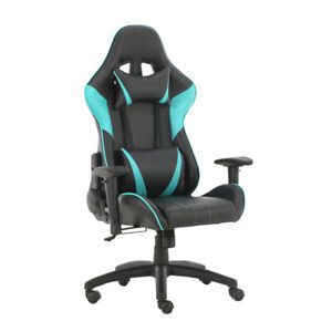 Gaming Chairs, Office Swivel Chairs, with headrest and Lumbar Pillow