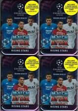 (4) 2018-19 Topps UEFA ChampionsLeagueSoccerMatchAttax 60ct RISING STARS TIN LOT