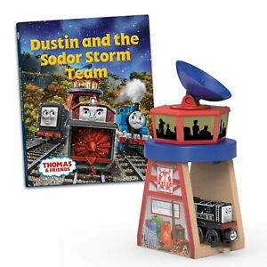 Thomas & Friends Wooden Railway Dustin and the Sodor Storm Team - New In Box