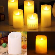 Romantic Electronic LED Flameless Carve Swing Flickering Simulation Candle Light