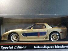 Maisto 2003 Chevy Corvette Dale Earnhardt Guldstrand Signature 1:18 Diecast Car