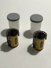 2 Rolls Kodak 400 (24 Exp)  Color Print 35mm Film with canisters