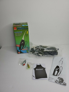 Ronco PF100100GENB Pocket Fisherman Spincasting Outfit with 2 Bonus Lures