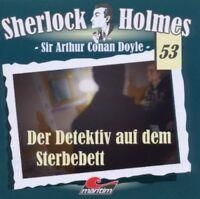 Sherlock Holmes 53 - Der Detektiv Auf Dem Sterbebett CD Hörspiel Maritim Verlag
