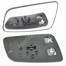 Left Passenger side Wing mirror glass for Vauxhall Astra G 98-04 Heated