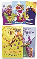 New, Vivid Journey Tarot, Alaire, Jessica, Book