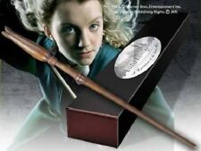 HARRY POTTER OFFICIAL LUNA LOVEGOOD REPLICA WAND + BONUS NAME CLIP STAND NEW