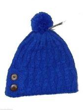 Billabong Beanie Blue Knit Hat Pom Pom Beanie New! NWT