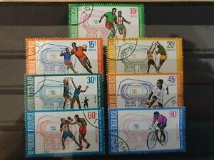 Togo 1969 Inaug of Sports Stadium, Lome.7 stamp set used