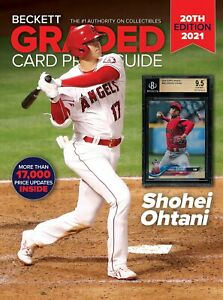 New 2021 Beckett GRADED CARD Price Guide 20th Edition With SHOHEI OHTANI 6021309