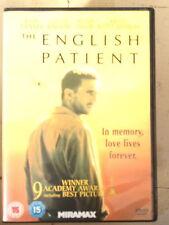 Ralph Fiennes Juliette Binoche THE ENGLISH PATIENT ~ 1996 Oscar Winner ~ UK DVD