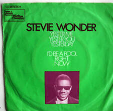 "7"" 1969! STEVIE WONDER : Yester-Me Yester-You Yesterday"