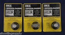 3 Pack HKS 29-M Speed Loader 44 Mag/Spl S&W Redhawk New In Package 29-M 3Pk