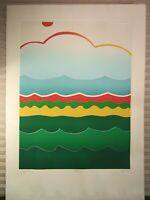Vintage Original Signed Print Listed Thom De Jong Artist Dutch NYC