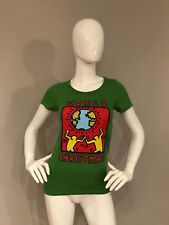 Junk Food Keith Haring World Christmas T-shirt SIZE XS