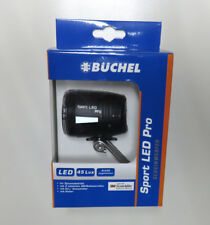 "Büchel ""Sport LED Pro"" 45 Lux Fahrrad-Licht StVZO Frontlicht integr.Rückstrahler"