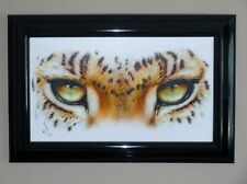THE WILD ONES-LEOPARD III EYES  GICLEE ON CANVAS by ADAM SCOTT ROTE PUBLISH 2011