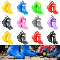 Kids Boys Girls Wellies Wellington Boots Rainy Boots EVA ULTRALIGHT 5 - 2.5 UK
