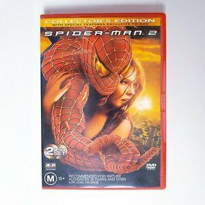 Spider-Man 2 Movie DVD Region 4 AUS Free Postage Marvel - Tobey Maguire