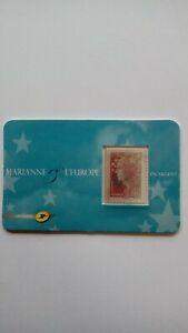Timbre Marianne de Beaujard en  argent - NEUF - 2008 - Y&T: 4242