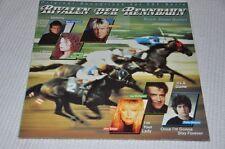 Soundtrack ZDF TV Serie - Rivalen der Rennbahn - Filmmusik Vinyl Schallplatte LP