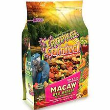 F.M. Brown's Tropical Carnival Gourmet Macaw Food Big Bites for Big Beaks, 14.