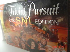 TRIVIAL PURSUIT Trivia Board Game TV NEW DVD SNL Edition Saturday Night LIVE