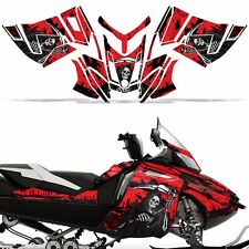 Rev XR Decal Graphic Kit Ski Doo Skidoo Sled Snowmobile Wrap Summit 13+ REAP RED