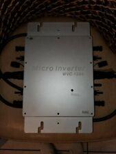 Grid Tie MPPT Pure Sine Wave Micro Solar Inverter 1200W Wireless Waterproof