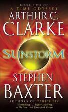 Unread Paperback*SUNSTORM, Bk. 2*Time Odyssey*Clarke and Stephen Baxter