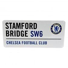 Chelsea F.C. Official Crested Metal Street Sign Stamford Bridge SW6