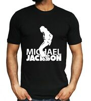 Michael Jackson T shirt Retro Music Tee King of Pop Unisex Top S - XXL