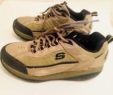 Skechers Shape Ups Mens Walking Sneakers Grey Size 8