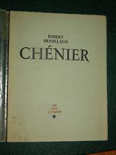 Robert BRASILLACH: Chénier. les sept Couleurs, 1947 edition originale bel ex