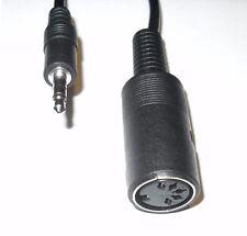 "Din Sync 3.5mm 1/8"" TRS Cable Dinsync - ARTURIA KEYSTEP DRUMBRUTE BEATSTEP PRO"