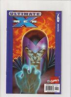Ultimate X-Men #6 VF/NM 9.0 Marvel Comics 2001 Wolverine Magneto