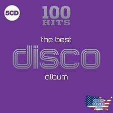 100 Hits Best Disco Album 5 CD Set