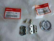 HONDA CR 125 250 500 GENUINE FRONT BRAKE HOSE CABLE CLAMP SET 45461-KA3-710 EVO