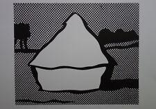Limited edt. Fine POP ART Haystack Silkscreen Roy Lichtenstein signed & stamped