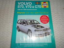 HAYNES SERVICE & REPAIR MANUAL VOLVO S70 V70 C70 1996-1999 SWEDISH TEXT