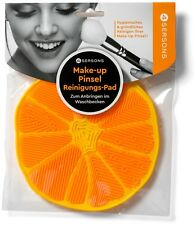 4-Seasons Make-up Pinsel Reinigungsmatte, Style ORANGE